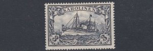 CAROLINE ISLAND 1901   S G 24    3M  VIOLET  BLACK       MH
