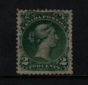 Canada #24 Very Fine Mint Well Regummed Lightly Hinged **With Certificate**