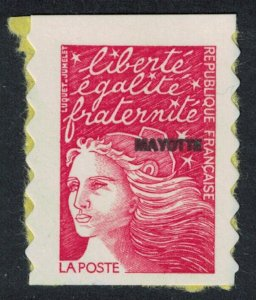 Mayotte Stamp of France optd 'MAYOTTE' self-adhesive SG#65