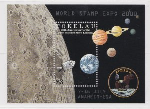 Tokelau # 272a, Moon Landing 30th Anniversary, Overrinted  NH, 1/2 Cat