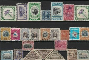 costa rica  stamps ref r12093