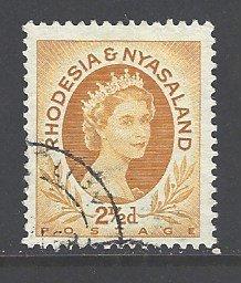 Rhodesia & Nyasaland Sc # 143B used (RS)