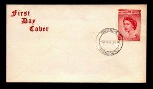 Southern Rhodesia 1953 QEII Coronation FDC - L13138