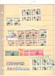 INDONESIA COLLECTION ON STOCK SHEET