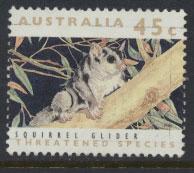 Australia SG 1317  Used  - Threatened species Squirrel Glider