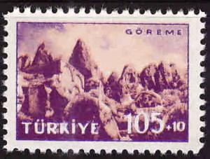 TURKEY Scott B73 MNH** Semi-Postal stamp