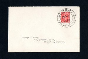 1952 STAMP EXHIBITION POSTMARK ON 1952 COVER