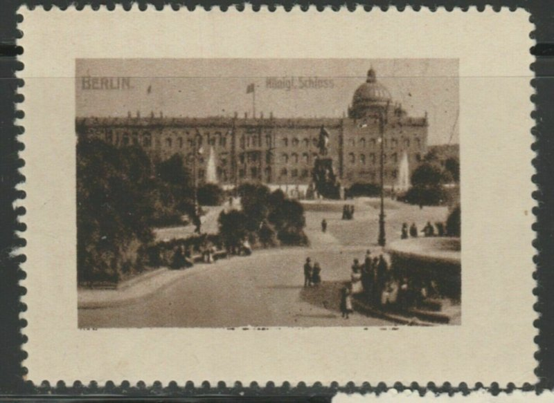 Berlin Cinderella Poster Stamp Reklamemarken A7P4F772