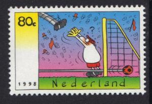 Netherlands 1998  MNH football  complete
