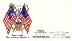 1976, Bicentennial American Revolution, FDC (D12726)