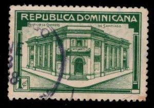 Dominican Republic Scott 305 Used stamp