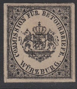 GERMANY Retourbriefe - Returned Letter Stamp - an old forgery - Wurzburg....B235