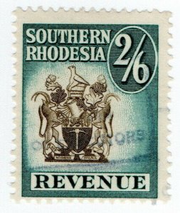 (I.B) Southern Rhodesia Revenue : Duty Stamp 2/6d
