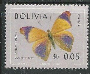 Bolivia || Scott # 521 - MH