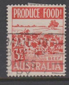 Australia Sc#255 Used