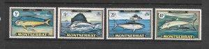 FISH - MONTSERRAT #220-3  MNH