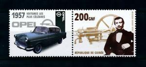 [100228] Guinea 2002 Classic Cars 1957 Opel 1200  MNH