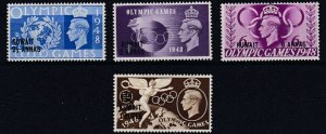 KUWAIT  1948  OLYMPIC GAMES  SET OF 4  MH