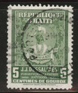 HAITI Scott 380 used stamp