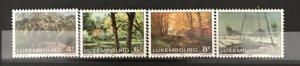 Luxembourg 1982 #667-70, MNH, CV $2.25