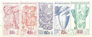 Czechoslovakia 849-853 (M)