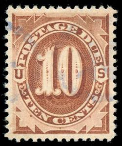 momen: US Stamps #J19 Used PSE Graded XF-SUP 95