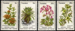 Transkei - 1981 Medicinal Plants Set MNH** SG 88-91