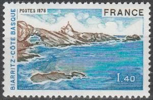 France #1471 MNH F-VF (SU6284)