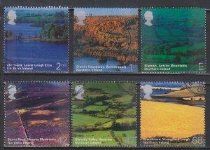 Great Britain,  Northern Ireland (SC# 2193-2198) Used Set