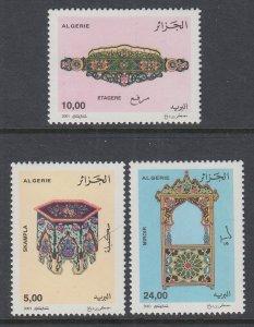 Algeria 1208-1210 MNH VF