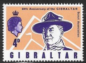 [16503] Gibraltar Mint Never Hinged