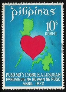 Philippines 1972 Scott# 1156 Used