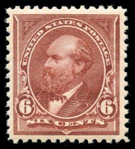 momen: US Stamps #271 Var. Mint OG NH XF Choice Weiss Cert