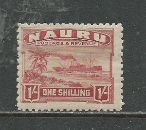 Nauru # 27a Unused HR