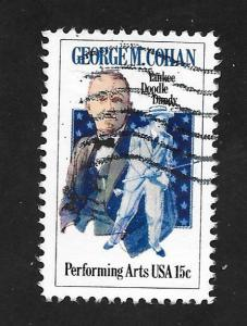 SC# 1756 - (15c) - George M. Cohan, used single