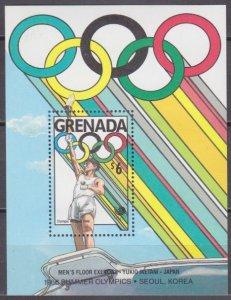 1989 Grenada 1969/B217 1988 Olympic Games in Seoul 7,50 €