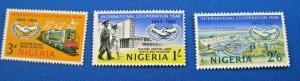 NIGERIA  1965  -  SCOTT # 178-180  -   MNH   (Hn18)
