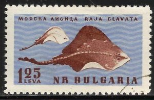Bulgaria 1961 Scott# 1169 Used CTO