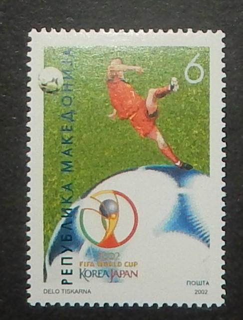 Macedonia 244. 2002 World Cup Soccer Championship, NH