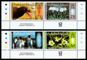 Falkland Islands - Color in Nature III (2014) Mint NH VF C