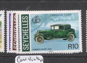 Seychelles Vintage Cars SC 581-4 MOG (12dhz)