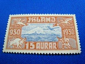 ICELAND  -  SCOTT #C4   -  MH    (wwi6)
