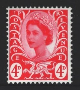 Wales and Monmouthshire Sc#10 MNH