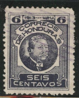 Honduras  Scott 155 Used stamp