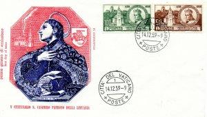 Vatican City FDC #264-265 (7936)