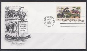 1390 Age of Reptiles Unaddressed Artmaster FDC
