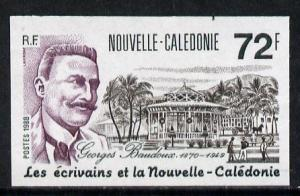 New Caledonia 1988 Georges Baudoux (Writer) 72f (Postage)...