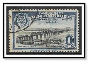 Mozambique Company #164 Zambezi Railroad Bridge CTO NH