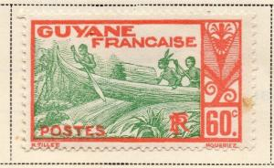 French Guiana 1939-40 Early Issue Fine Mint Hinged 60c. 075761