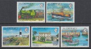 Alderney 42-46 MNH VF